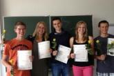 Erfolgreiche Teilnahme an Cambridge Prüfungen