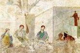Die 9c in der Pompeji-Ausstellung