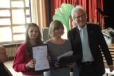 Russisch-AG mit Urkunde ausgezeichnet