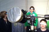 Sternzeit AG (Fel/Sry) untersucht Sonnenflecken mit der Schulsternwarte