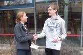 Arne Hollstein Schulsieger im Erdkunde-Wettbewerb
