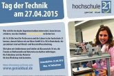 Tag der Technik am 27.04.2015